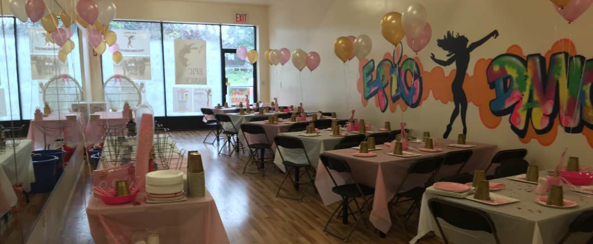 """Versatile Roomy Event Space"" Spacious, Clean Fresh Look, Kid-Friendly! in Jamaica Hero Image in Rochdale, Jamaica, NY"