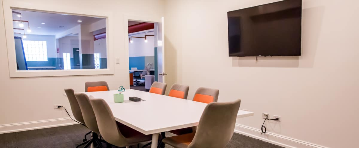 Modern Conference Room in Logan Square in Chicago Hero Image in Logan Square, Chicago, IL