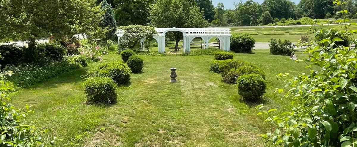 Rose Garden at Historic North Shore Home in South Hamilton Hero Image in undefined, South Hamilton, MA