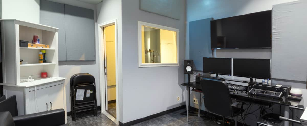 Music Studio with Podcast Room in Long Island Hero Image in Long Island City, Long Island, NY