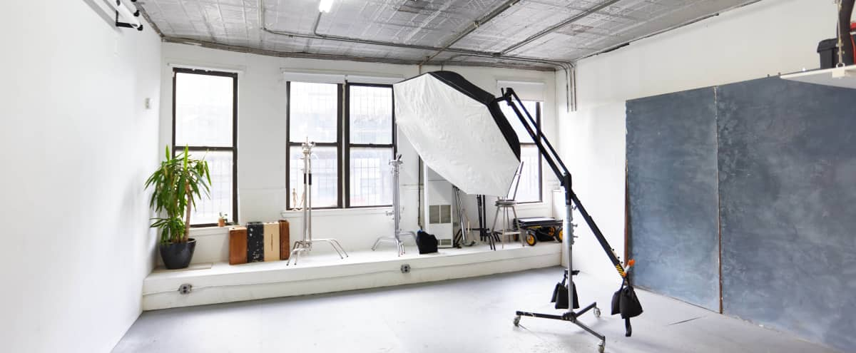 Bushwick Daylight Photo Studio with Profoto Equipment in New York Hero Image in Bushwick, New York, NY
