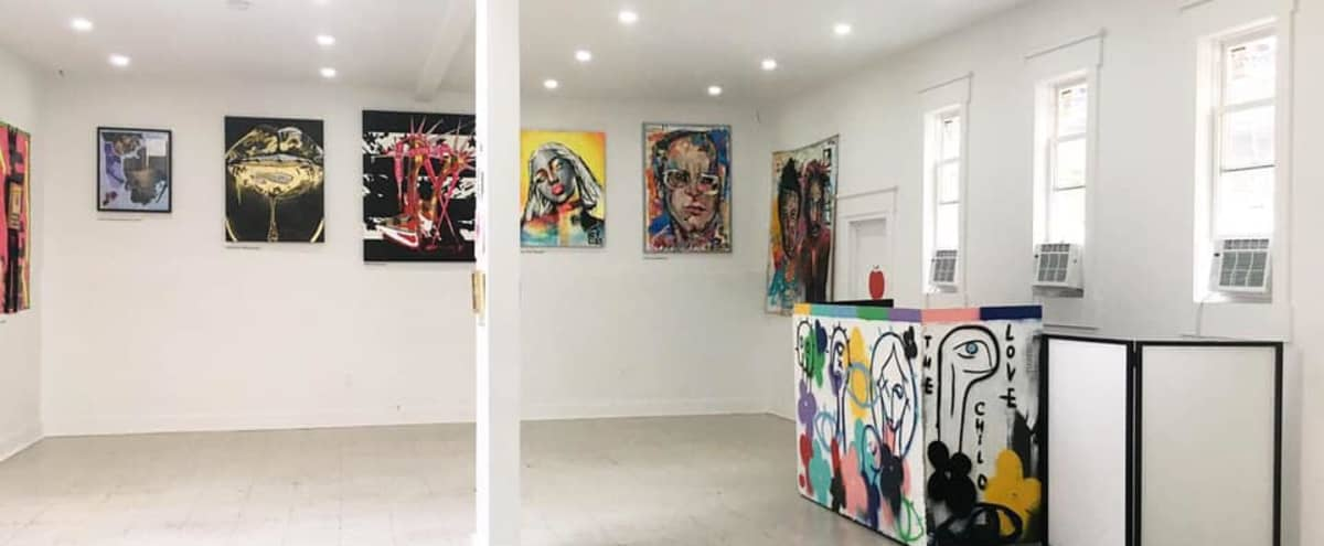 Art Gallery Open Spacious Style Property Available for Events in Brooklyn Hero Image in Bushwick, Brooklyn, NY