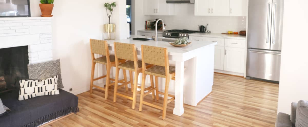 Bright & Airy Modern White Kitchen in Oceanside Hero Image in South Oceanside, Oceanside, CA
