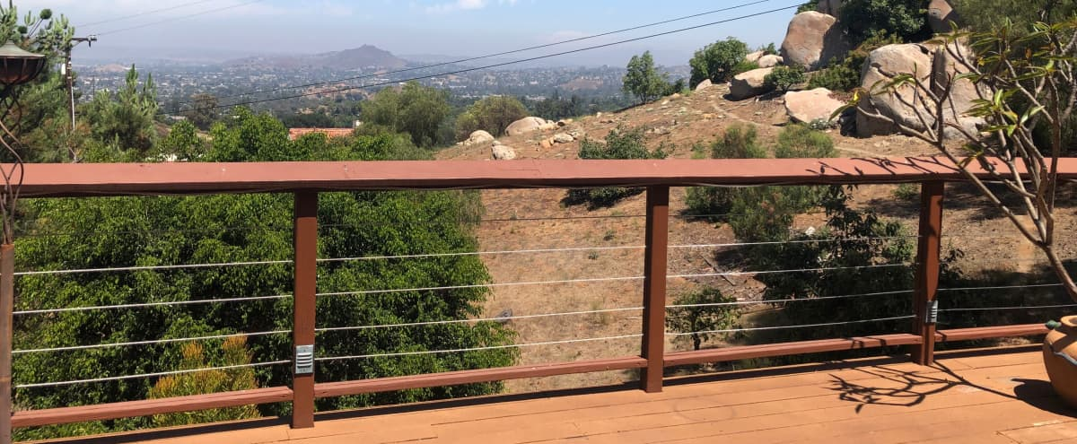 Sweeping Views from a Mountain Retreat with 1,000+ soft Deck and Bonfire Area in El Cajon Hero Image in undefined, El Cajon, CA