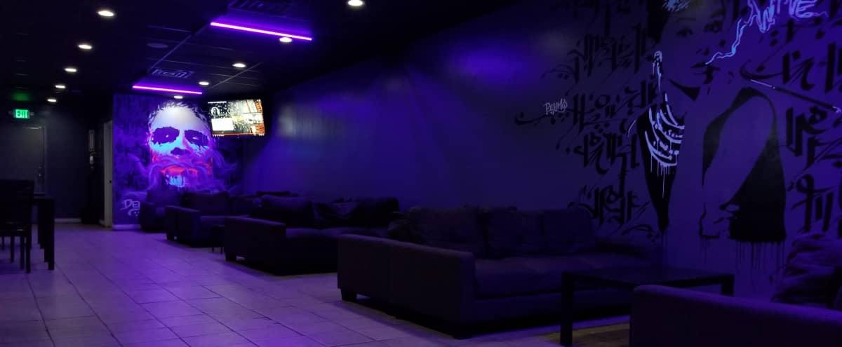 Spacious Lounge With Urban Vibe & Patio in Van Nuys Hero Image in Van Nuys, Van Nuys, CA