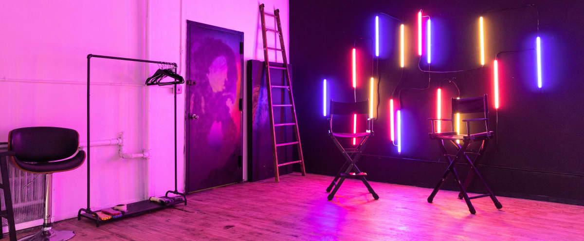 Loft Neon Studio & Equipment Included in Brooklyn Hero Image in East Williamsburg, Brooklyn, NY