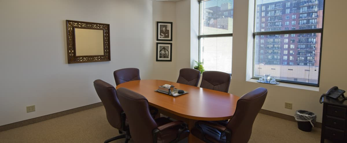 Sleek - Affordable Conference Room - Downtown Minneapolis in Minneapolis Hero Image in Downtown West, Minneapolis, MN