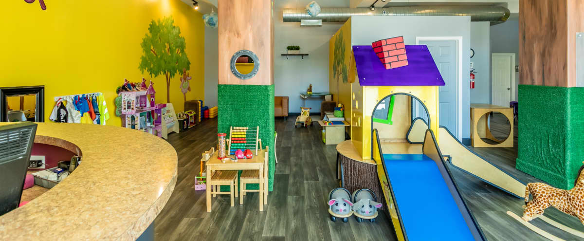 Upscale Children's Playroom Ideal for Private Playdates & Birthday Parties in Chicago Hero Image in Logan Square, Chicago, IL