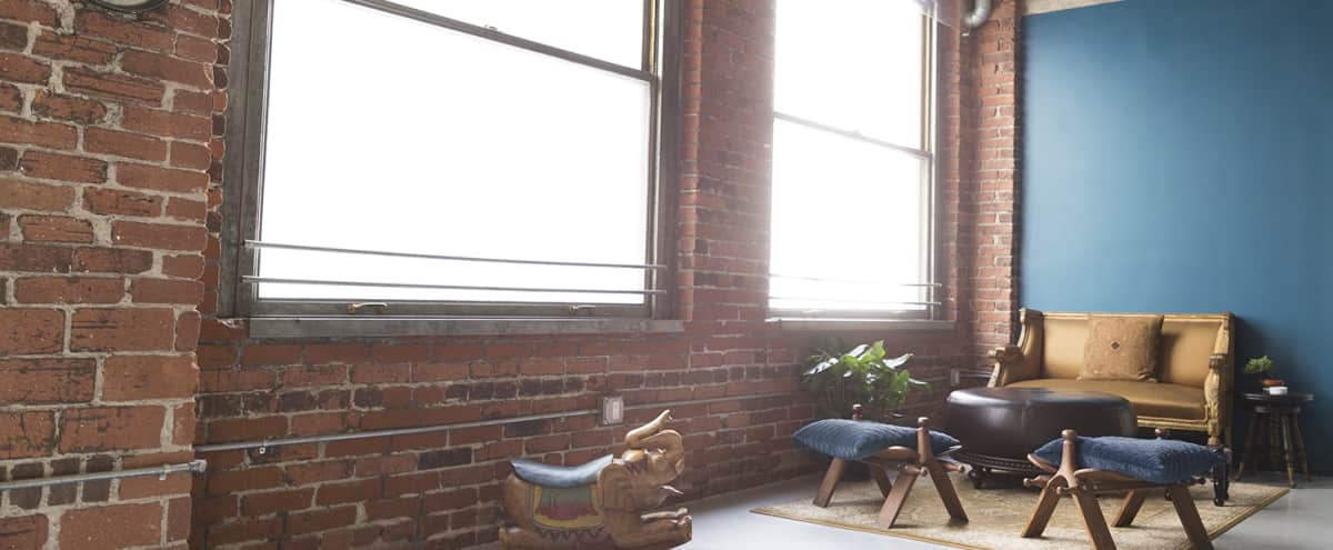 Rustic Downtown Loft with Soft Natural Light in Los Angeles Hero Image in Central LA, Los Angeles, CA