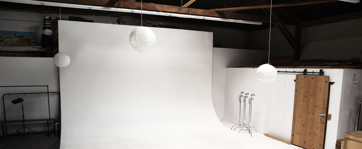 Professional Photo Studio and Creative Space (3000 sq. ft.) in Long Beach Hero Image in Zaferia, Long Beach, CA