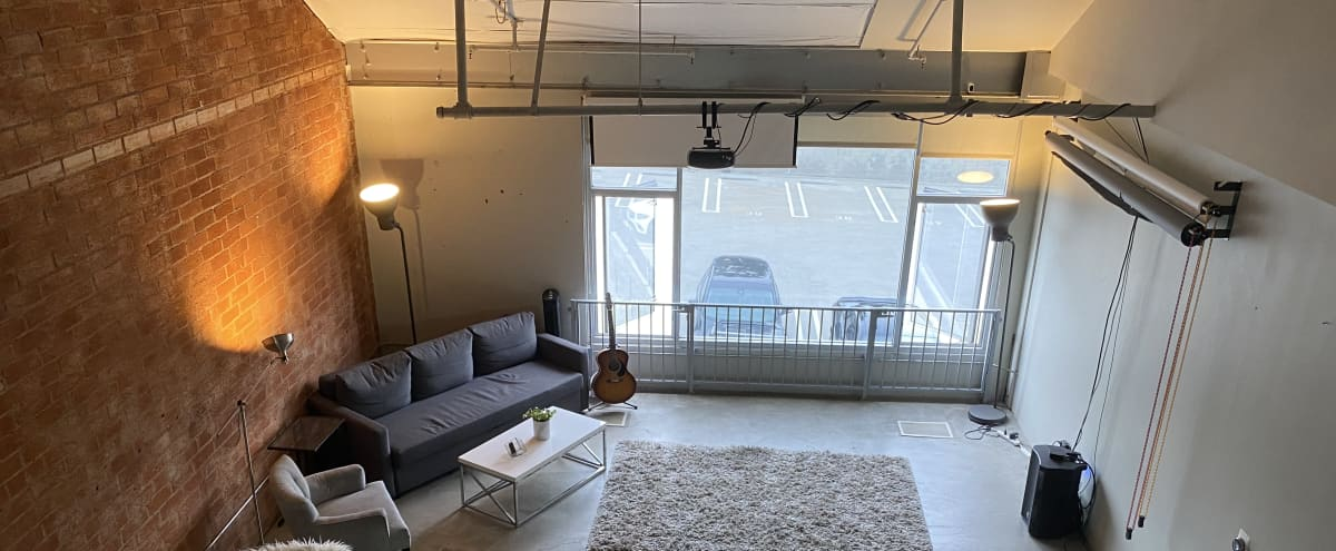 Spacious NYC LOFT PHOTO STUDIO w/ AC & dedicated Hair/MakeUp Room!!! Equipment included! in North Hollywood Hero Image in NoHo Arts District, North Hollywood, CA