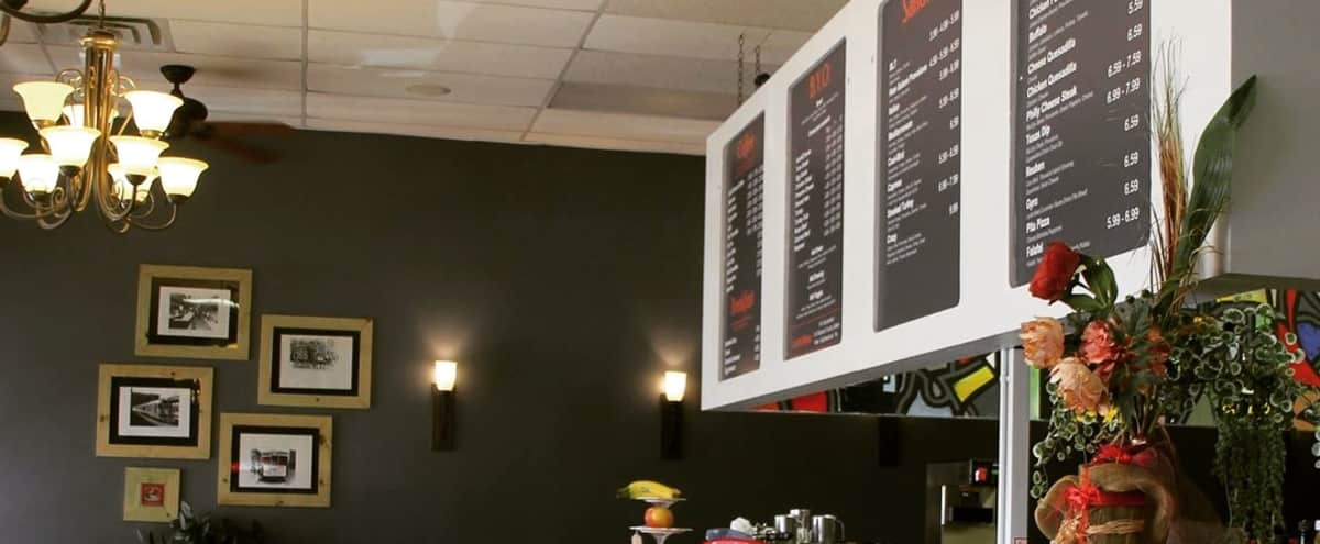 Spacious and Cozy Coffee Shop for All Your Event Needs in Houston Hero Image in undefined, Houston, TX
