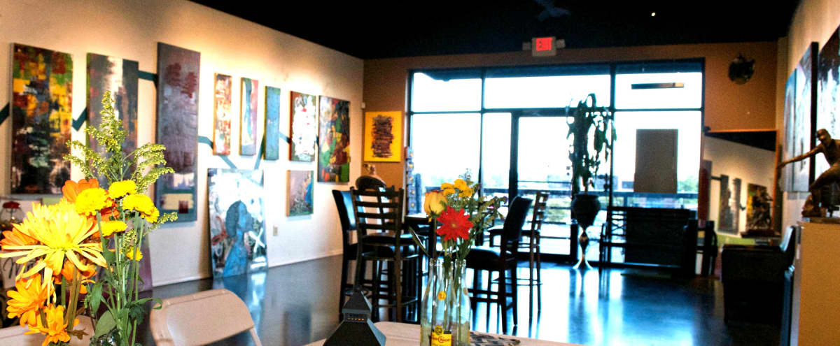 Colorful Sandy Springs Art Gallery Event Venue in Atlanta Hero Image in undefined, Atlanta, GA