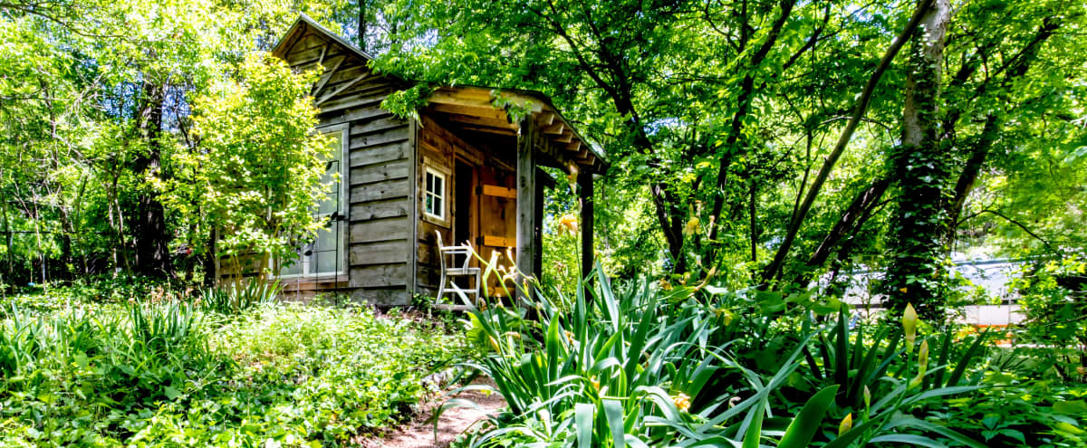 The Urban Cloud — Handcrafted Tiny House/Cabin + Eclectic House + Treehouse Office in Dallas Hero Image in undefined, Dallas, TX