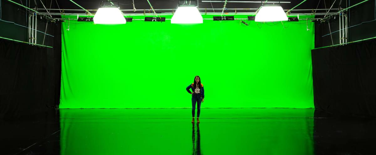 Giant Pre-Lit Green Screen Sound Stage in San Gabriel Hero Image in undefined, San Gabriel, CA