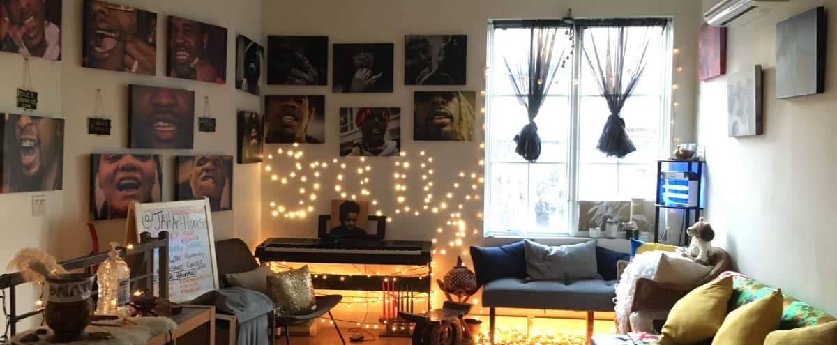 BedStuy Loft with amazing View & Photo Studio in Brooklyn Hero Image in Bedford-Stuyvesant, Brooklyn, NY