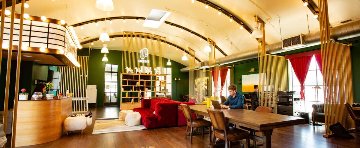 Vibey Santa Monica Open Area with Patio in Santa Monica Hero Image in Wilshire Montana, Santa Monica, CA