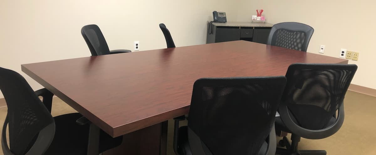 Well-Appointed, Cozy Conference Room for 4-6 ppl in Mt. Laurel Hero Image in undefined, Mt. Laurel, NJ