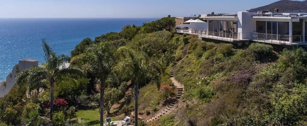 Malibu Ocean View House With Pool and Garden in Malibu Hero Image in undefined, Malibu, CA