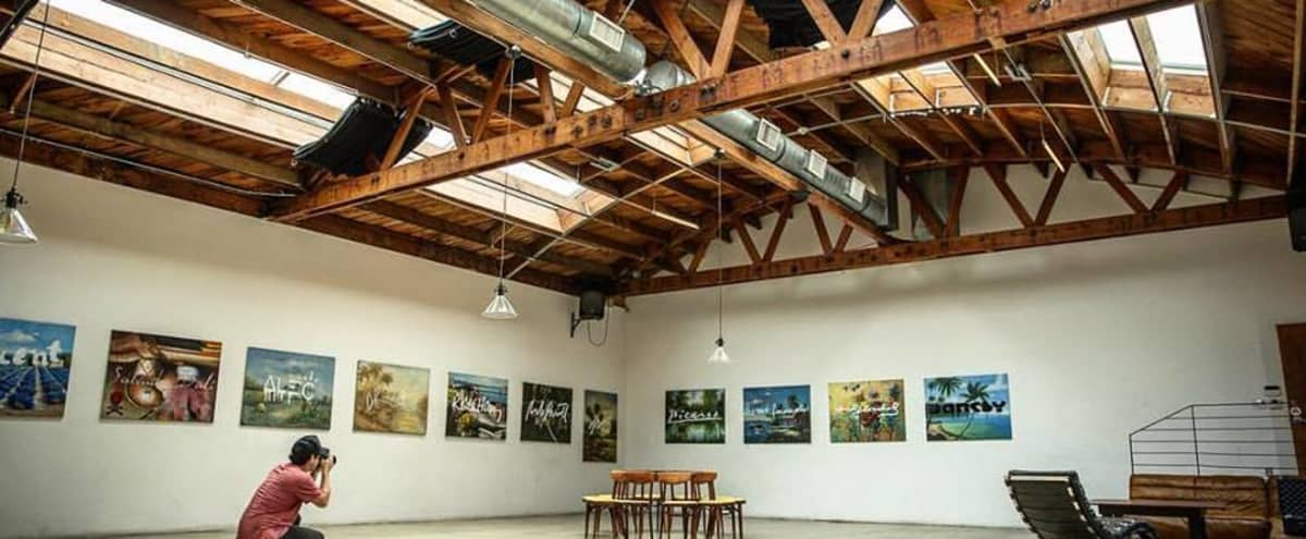 Westside Industrial Event Space, Creative Space, and Natural Light Studio in Venice Hero Image in Venice, Venice, CA