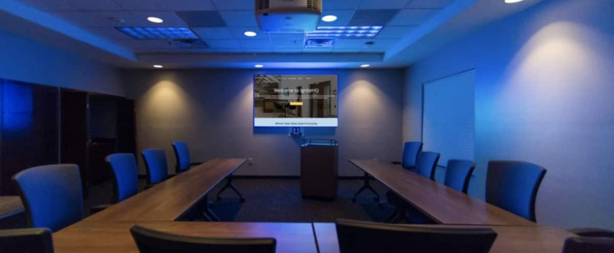 Hi-Tech Production Boardroom Perfect for Office Scene in Marietta Hero Image in undefined, Marietta, GA