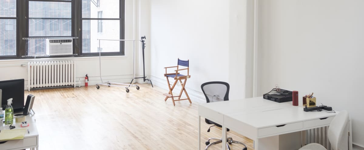 Midtown Loft Photography Studio - Editing Bay - Client Lounge - Equipment Rentals in New York Hero Image in Midtown Manhattan, New York, NY