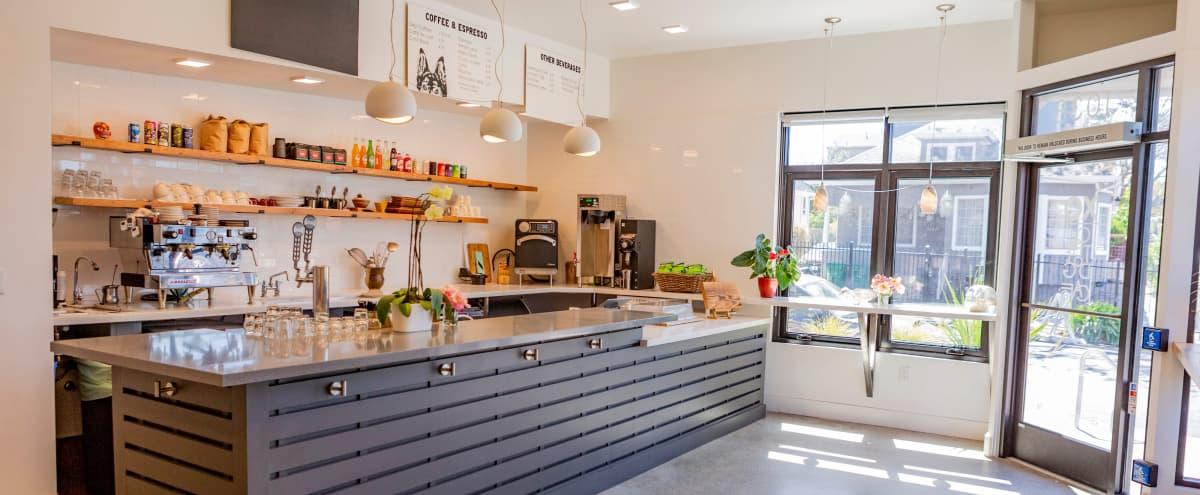 Modern Cafe with a Garden in Residential Neighborhood in OAKLAND Hero Image in Clinton, OAKLAND, CA