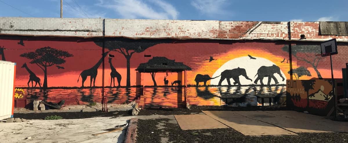 Flexible Event Space in Industrial Artists' Village in Oakland Hero Image in West Oakland, Oakland, CA