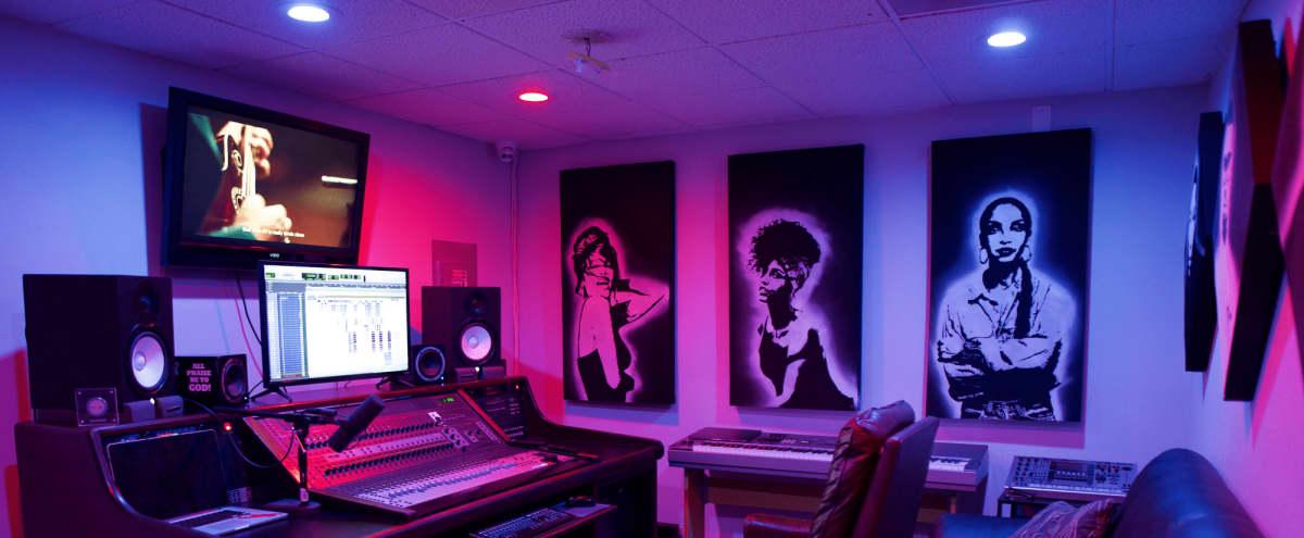 Private Recording Studio with Spacious Booth in Riverside Hero Image in La Sierra, Riverside, CA
