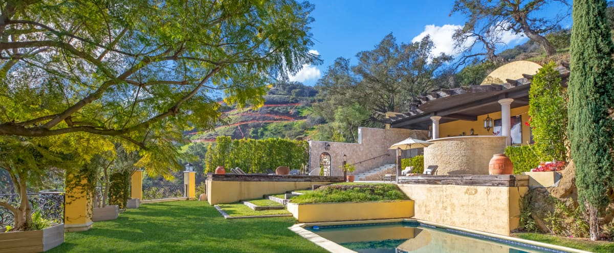 Tuscan Villa in Beverly Hills with Canyon Views in Beverly Hills Hero Image in undefined, Beverly Hills, CA