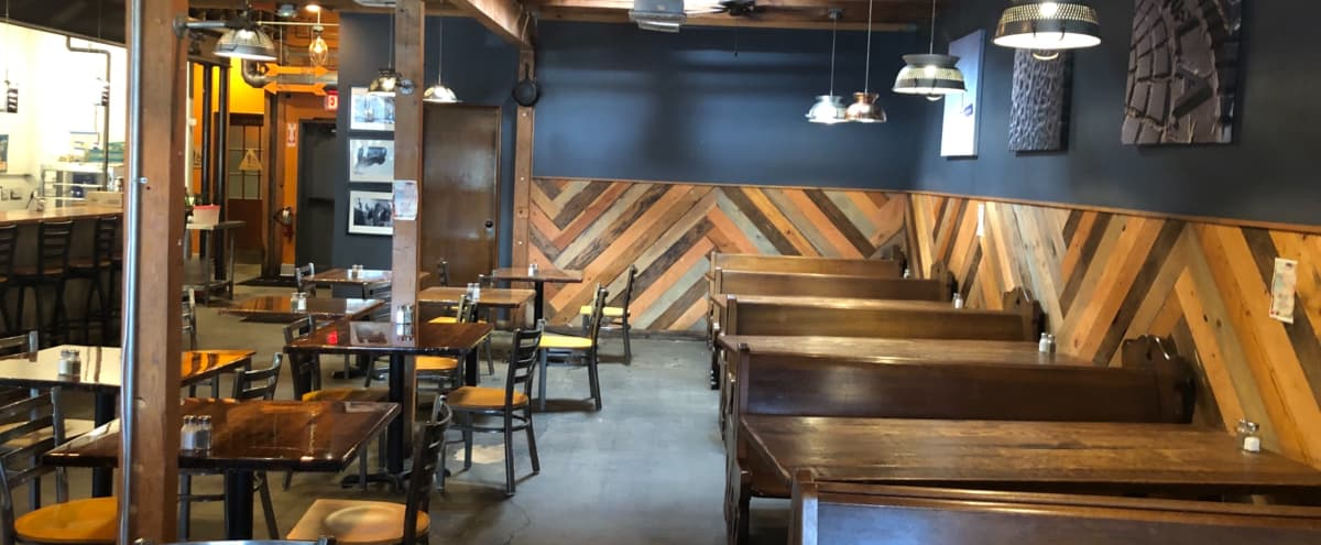 Rustic, Industrial Restaurant and Bar in Granada Hills Hero Image in Granada Hills, Granada Hills, CA