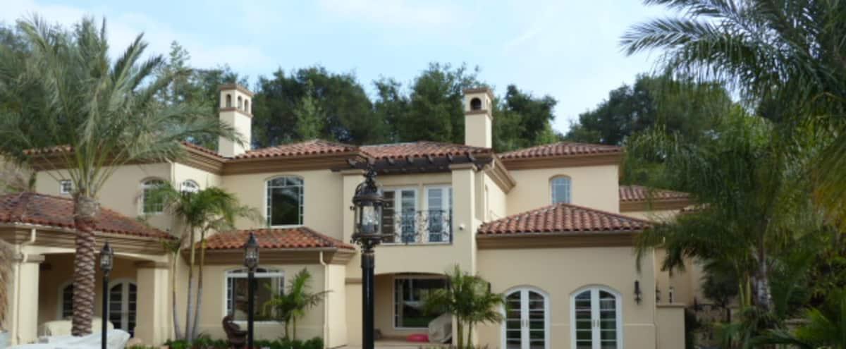 Resort-like Backyard with Poolhouse in la canada Hero Image in undefined, la canada, CA