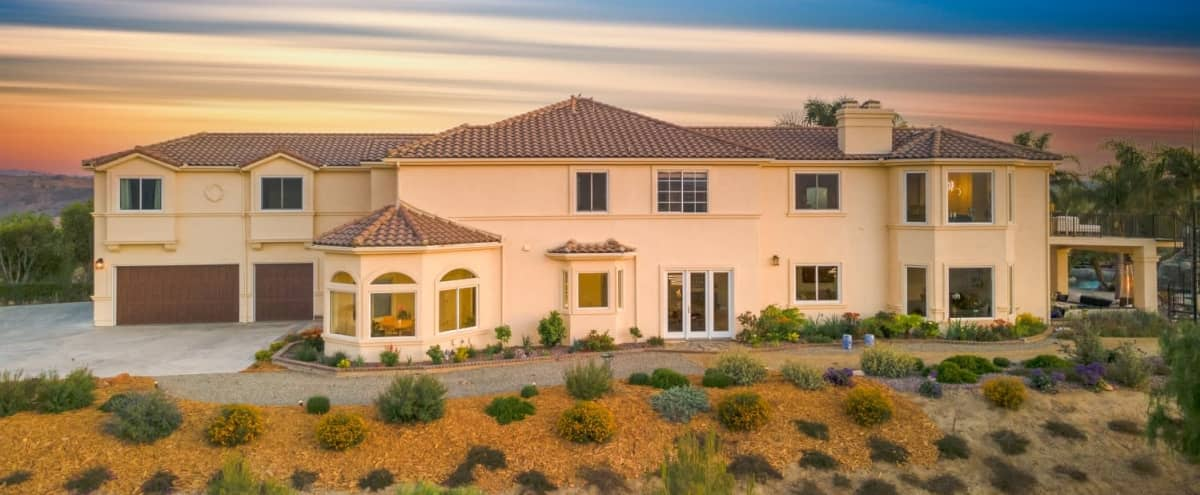 European Style Estate with Rustic Wooden Barn on 20 acres w in Camarillo Hero Image in undefined, Camarillo, CA