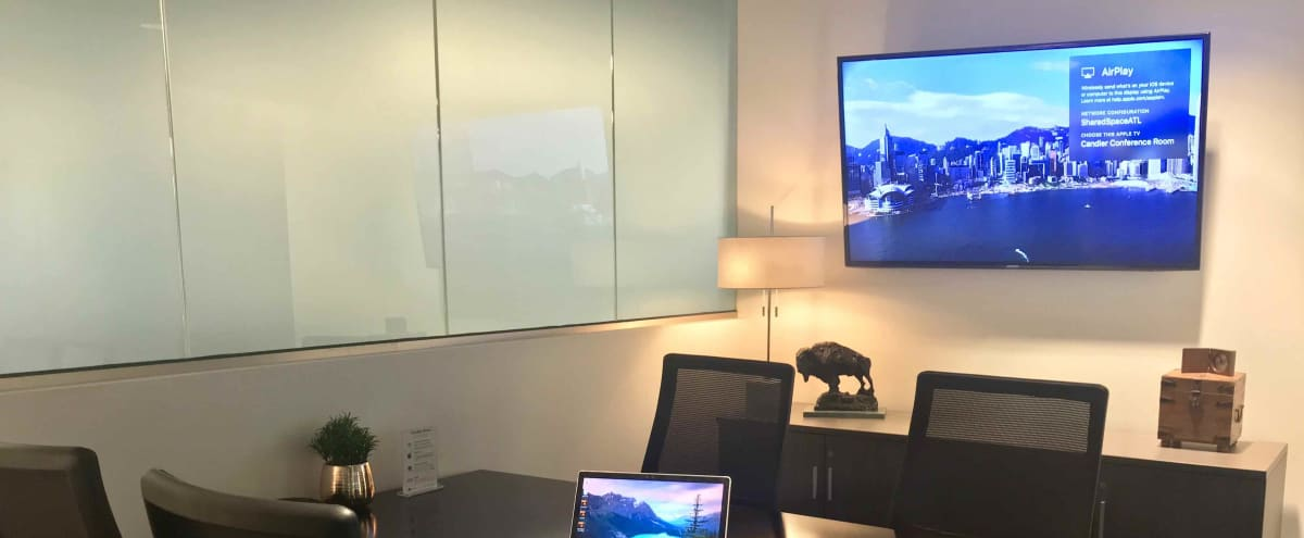6 Person Meeting Room in Creative Space Located in Dunwoody in Atlanta Hero Image in undefined, Atlanta, GA