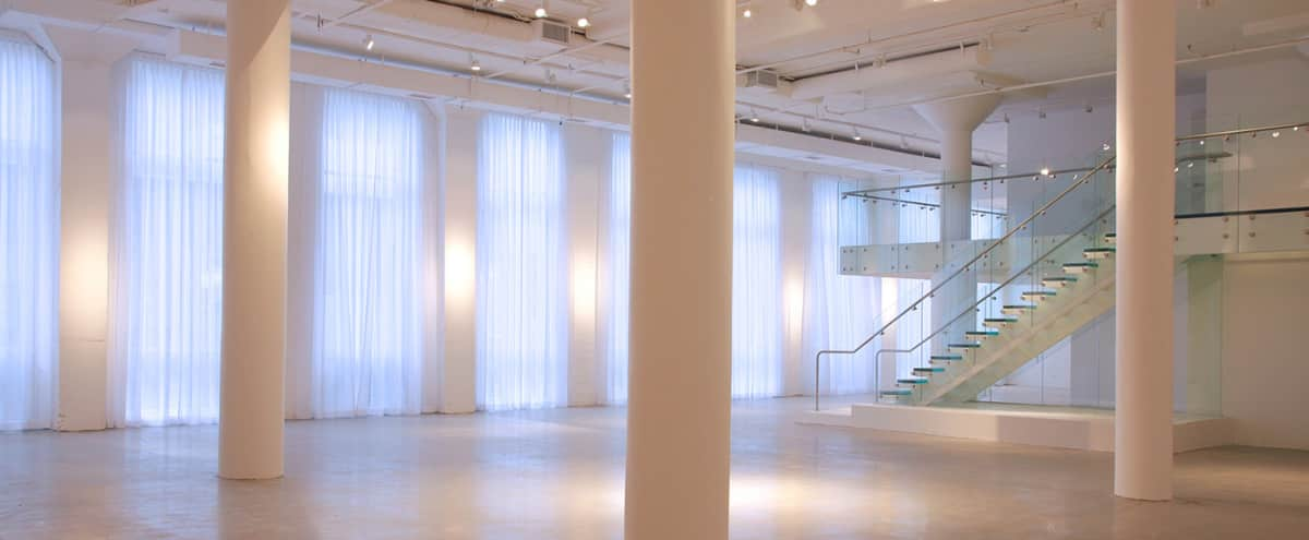 Modern Loft Space for Events, Photo and Film Shoots With Easy Loading in Chicago Hero Image in River North, Chicago, IL