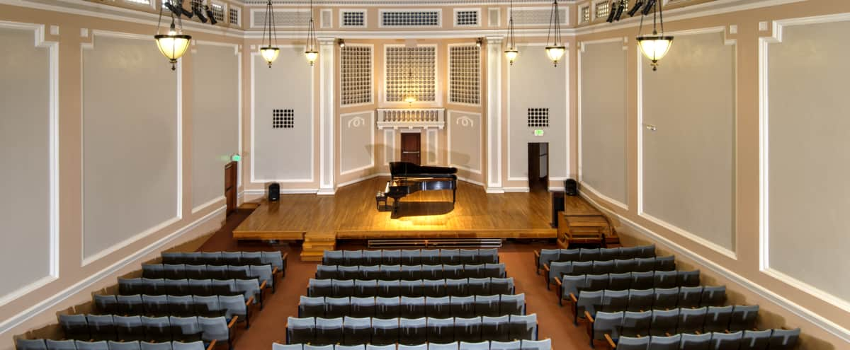 Elegant Auditorium with World Class Acoustics in Downtown San Jose in San Jose Hero Image in Horace Mann, San Jose, CA