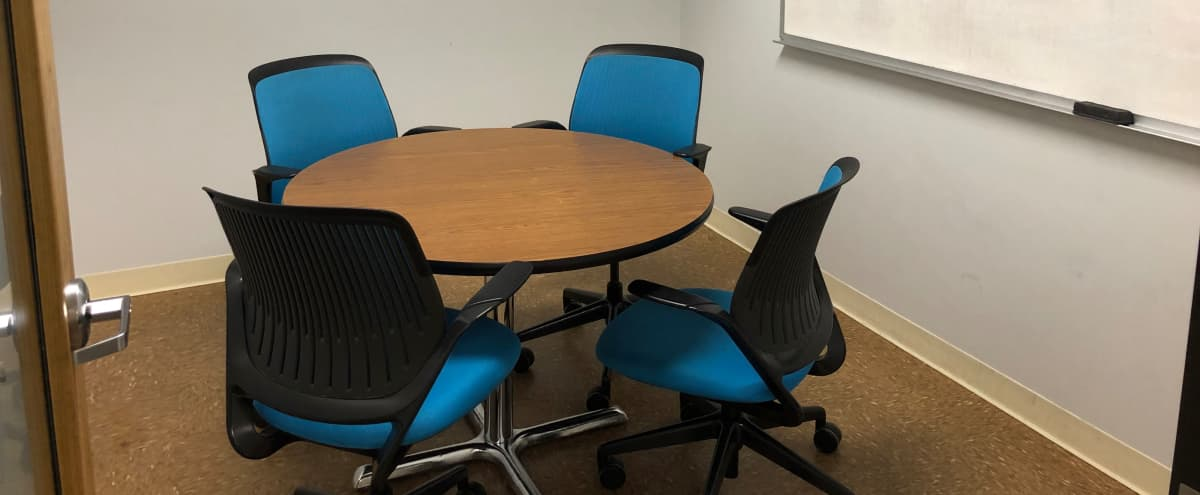 Mocha Room: Meeting Room/Office for up to 4 in Austin Hero Image in North Crossing, Austin, TX