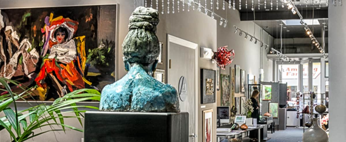 Spacious Art Gallery located in the vibrant Inner Sunset in San Francisco Hero Image in Sunset District, San Francisco, AL