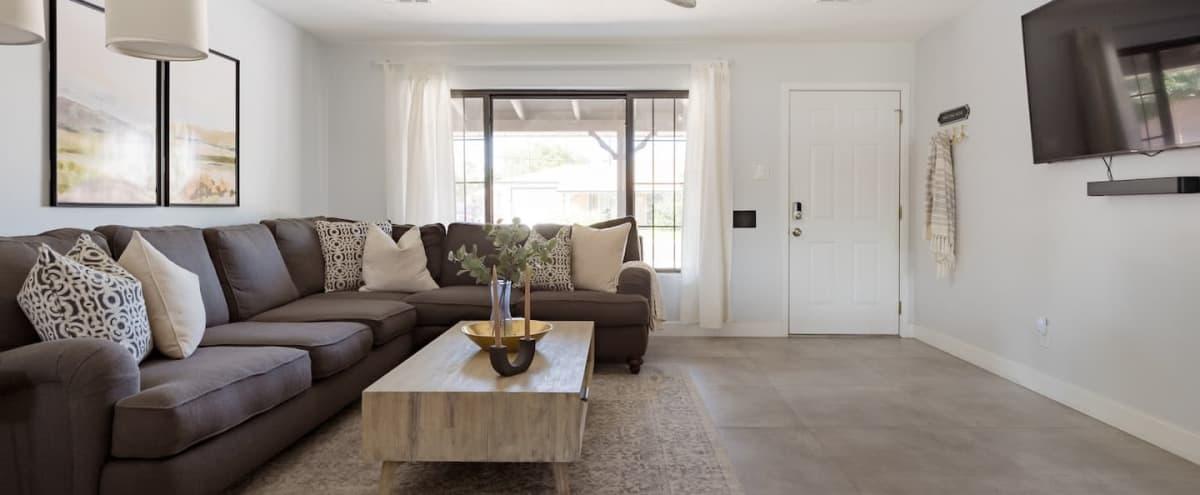 Minimalist Mid-Century Style Home in Scottsdale Hero Image in Scottsdale Estates Two, Scottsdale, AZ
