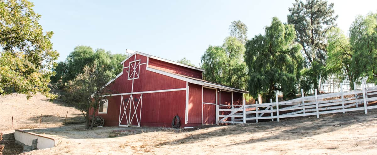 Private 3 acre hilltop home, guest house, classic barn, tennis, grand pool area, mini ranch in Thousand Oaks Hero Image in undefined, Thousand Oaks, CA