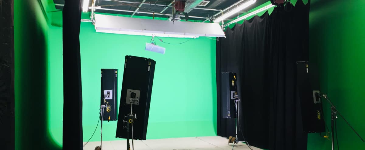 Pre-lit Sound Proof Green Screen Studio in Burbank Hero Image in undefined, Burbank, CA