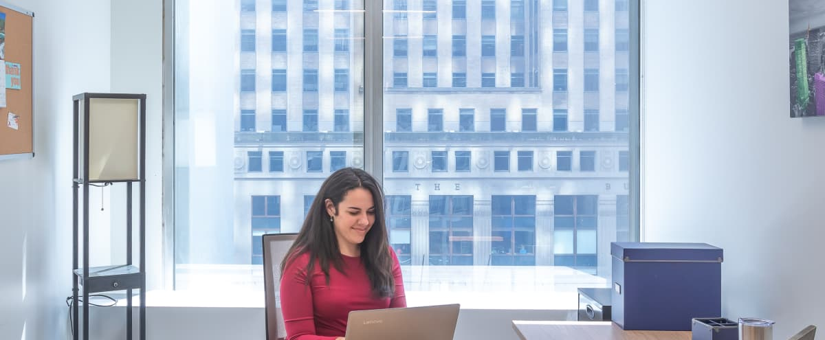 Dedicated Day Office | Flexible On Demand in New York Hero Image in Financial District, New York, NY