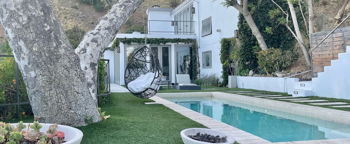 Hollywood Hills Cabana House with Skyline View in Los Angeles Hero Image in Central LA, Los Angeles, CA