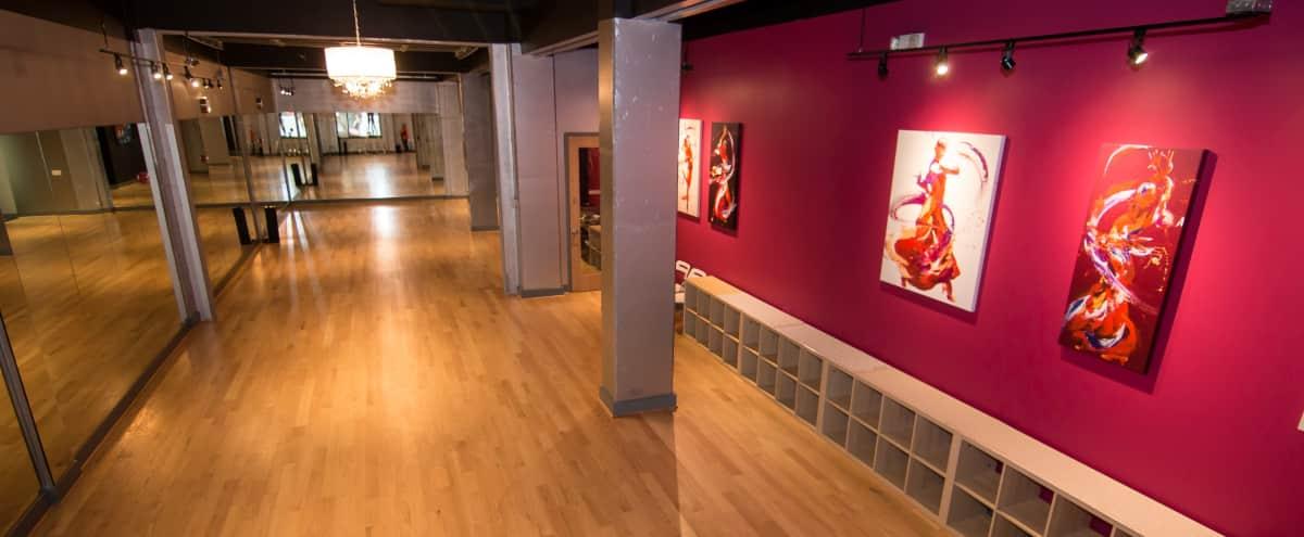 Intimate Event Venue and Dance Studio - Full Venue in Washington DC Hero Image in Park View, Washington DC, DC