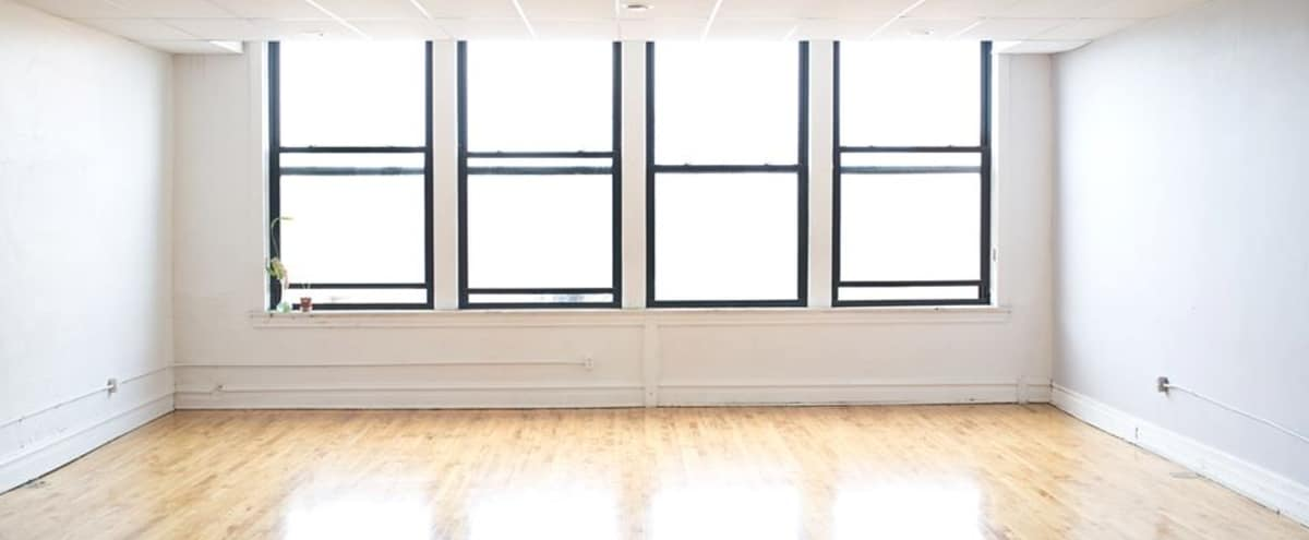 Centrally Located Studio Space in Wicker Park with Natural Light & Sprung Wood Floors | Front Studio in Chicago Hero Image in Wicker Park, Chicago, IL