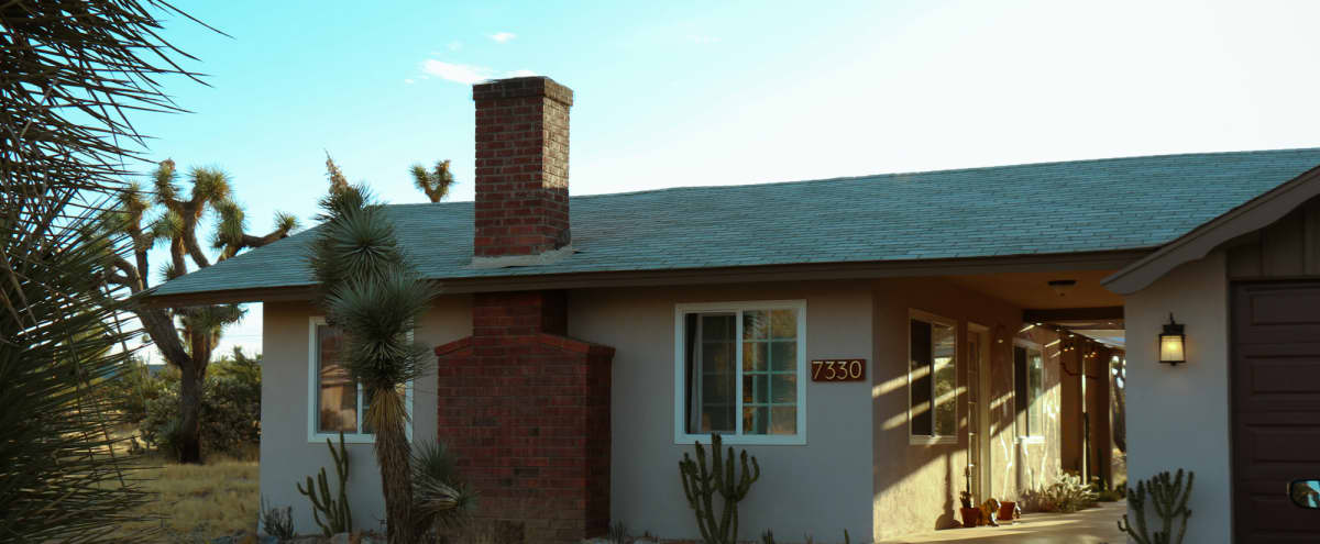 Stylish Desert Hideout w Mountain Views and Mid Century Interior in yucca valley Hero Image in undefined, yucca valley, CA