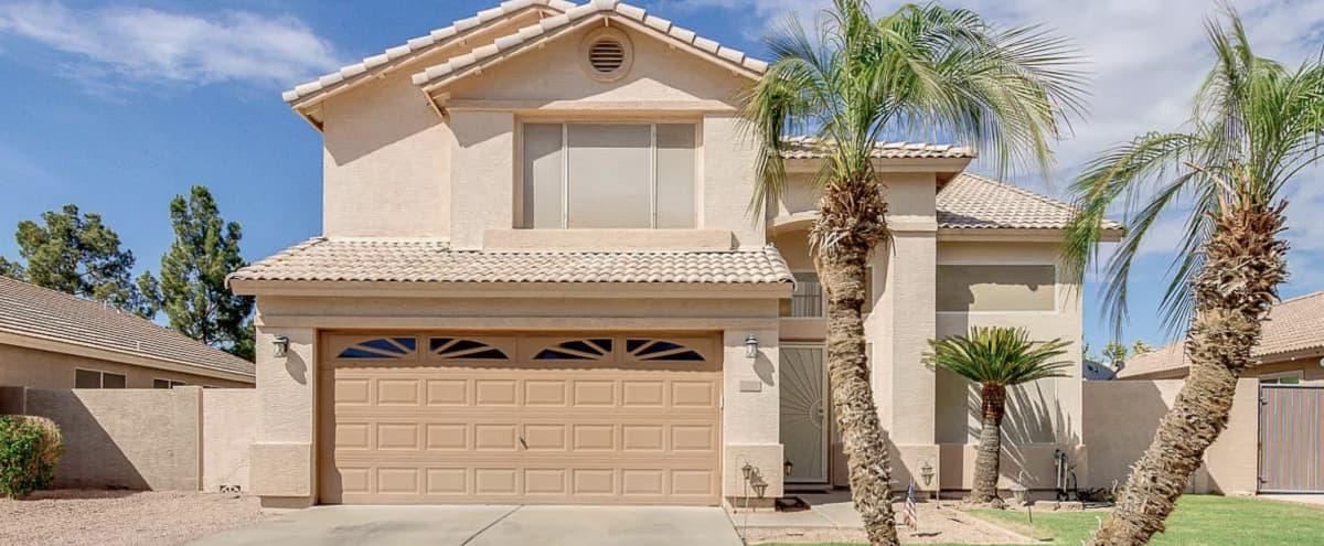 Santa Barbara Style Home in Gilbert in GILBERT Hero Image in Highland Corner, GILBERT, AZ