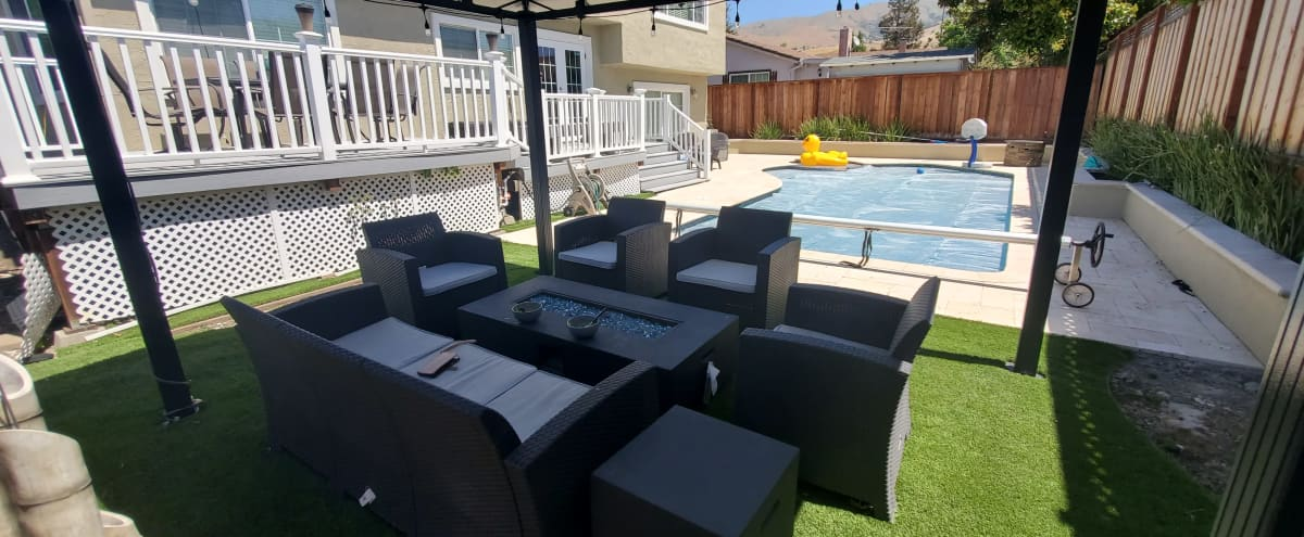 Fremont Backyard Oasis Pool and Spa in FREMONT Hero Image in Warm Springs, FREMONT, CA