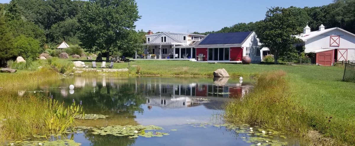 2 Barns in a beautiful property with horses in Water Mill, Hamptons New York in Watermill Hero Image in undefined, Watermill, NY