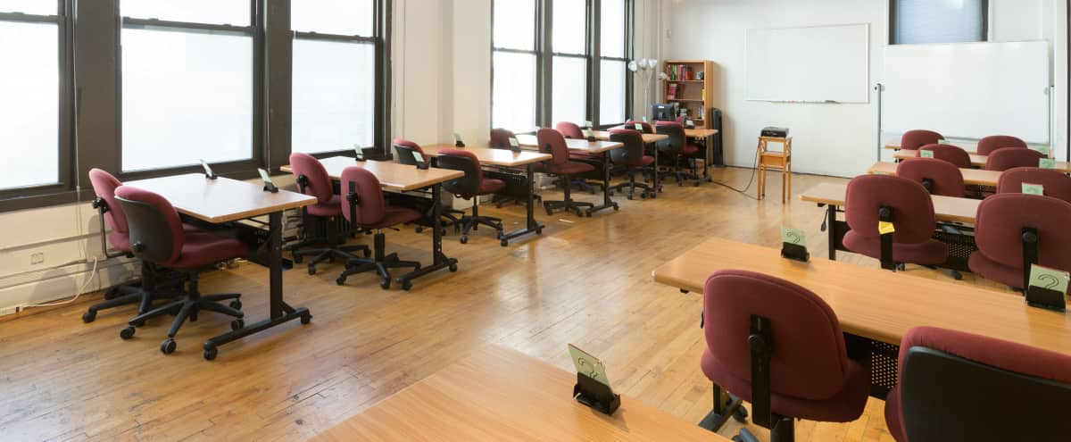 Corporate Event / Classroom Space In Chelsea - Room 9-1 in New York Hero Image in Midtown, New York, NY